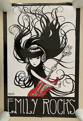 EMILY THE STRANGE #ST3088    RC51 T FREE SHIPPING LOT OF 2 POSTERS