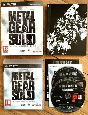 Metal Gear Solid The Legacy Collection 1987-2012 25 Ans Complet Ps3 Français Mgs