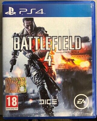 Sony Playstation 4 Battlefield 4 Ps4 Pal Italiano Completo