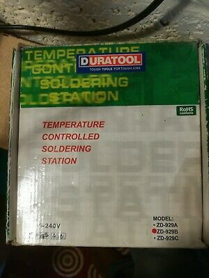 Soldering Station ZD 929D Duratool
