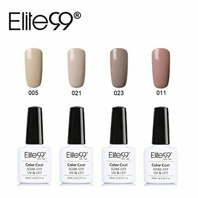 Elite99 Esmalte Semipermanente Esmalte de Uñas en Gel UV LED Kit de Manincura