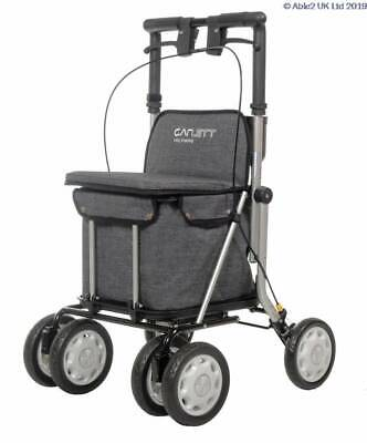 Carlett Shopping Trolley Rollator LETT900 Grey - PR30280/GR