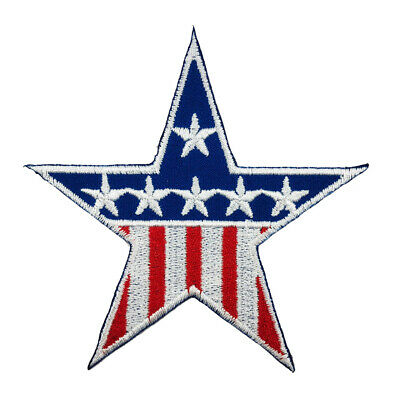 22ef3ff282d Star United States of America USA Flag sew Iron on Patch Appliques Badge  A248