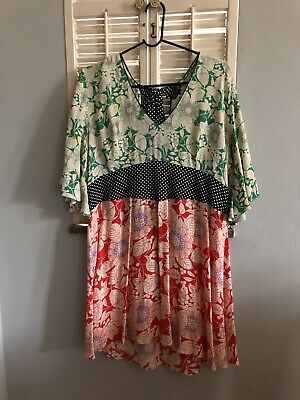 c70528d36db8 TOPSHOP MIX FLORAL Print Mini Skater Dress 14 - $15.00 | PicClick