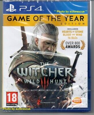 The Witcher 3 Game of the Year Edition  'New & Sealed'   *PS4(Four)*
