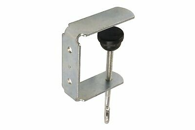 FFR Merchandising 1812524300 Metal C-Clamp Sign Bracket with Notch, Pack of 50