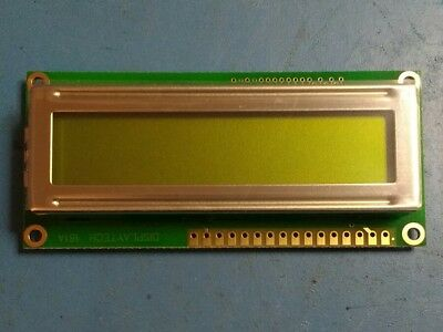 Displaytech 161A-BC-BC Alphanumeric Transflective LCD Monochrome Display. New