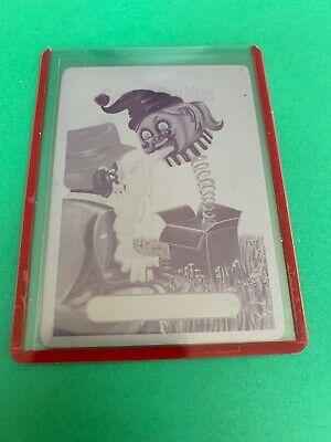 2019 Garbage Pail Kids We Hate The 90's Printing Plate Magenta Whit's In The Box