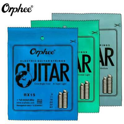 Orphee Electric Guitar Strings 9's,10's,11's Gauges UK Supplier