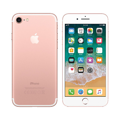 Apple iPhone 7 - 128GB - Rose Gold - Fully Unlocked - Good Condition