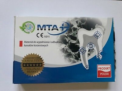 Dental MTA mini material for root canal fillings and rebuilding 3x 0.14g white