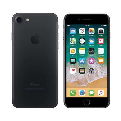 Apple iPhone 7 - 32GB - Black - Fully Unlocked - Good Condition