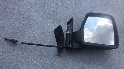 Peugeot Expert MK2 2007-2017 Black Door Wing Mirror Cover O//S Drivers Right