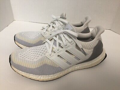 88dd50af93d66 Adidas Ultra Boost White Grey Cream Gradient PK Mens Size 9 Rare AQ4007