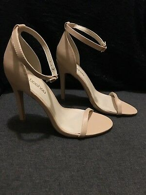 8191e5942a10f Boohoo Women's Shoes - HEELS Sandal Peach US Size 9 - UK Size 7 - GREAT