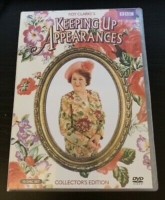 Keeping Up Appearances Complete Seasons DVD Set (Collectors Edition, Free Shippi