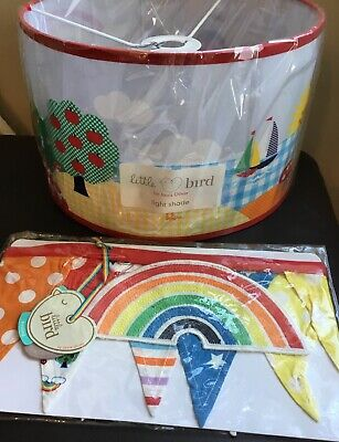 Little Bird By Jools Oliver @ Mothercare Large Nursery Light Shade & Bunting 🌈