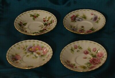 ROYAL ALBERT - Flower of the month serie - COSMOS 1970 - Bone china