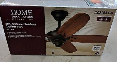 Home Decorators 904 384 Altura 68 In Oil Rubbed Bronze Ceiling Fan See Des Pic 160 00 Picclick