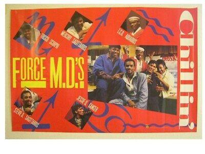 The Force Mds Poster M.D.'s M.D.s Chillin Band Shot Old