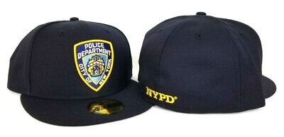 on sale eb096 41ff9 New Era Navy Blue New York City Police department NYPD Fitted hat Cap