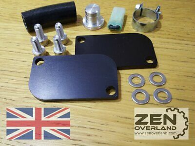 KTM SAS Valve Block Off Removal Eliminator Complete Kit 990 Superduke Super Duke