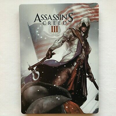 """Assassin's Creed 3 III Steelbook Collector Edition US Version G1 size """"NEW"""""""