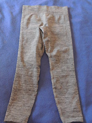 Under Armour Girls Youth Medium Compression Pants Gray YMD??