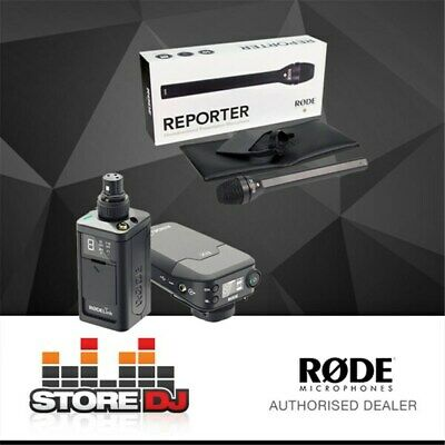 RODELink Newsshooter Kit Digital Wireless System w/ Reporter Interview Microphon