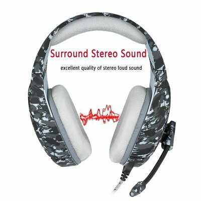 Stereo Bass Surround Gaming Headset for PS4 New Xbox One PC with Mic
