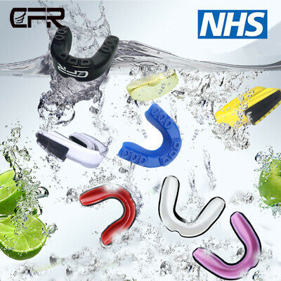 Teeth Protector Mouth Guard Piece Gym Boxing Basketball Gum Sheild Free Size CFR