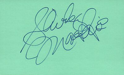 Cards & Papers Red Buttons Actor Comedian 1976 Shirley Maclaine Autographed Signed Index Card