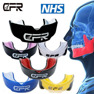 CFR Teeth Protector Mouth Guard Piece MMA Boxing Basketball Gum Sheild Free Size