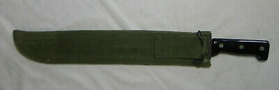 US Military Machete with Canvas Sheath, Made in England