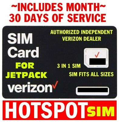 TRUE GRANDFATHERED VERIZON UNLIMITED DATA 4G LTE Data SIM For