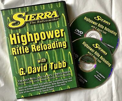 HIGHPOWER RIFLE RELOADING SIERRA BULLETS G  David Tubb