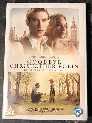 Goodbye Christopher Robin Dvd (Margot Robbie) Brand New & Sealed Free Post