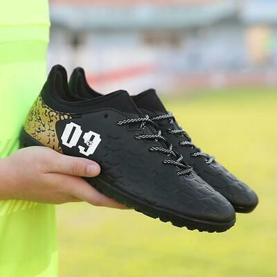 premium selection 8d5ee 7af54 Men Indoor Football Original Cleats Futzalki Athletic New Leather Soccer  Shoes T