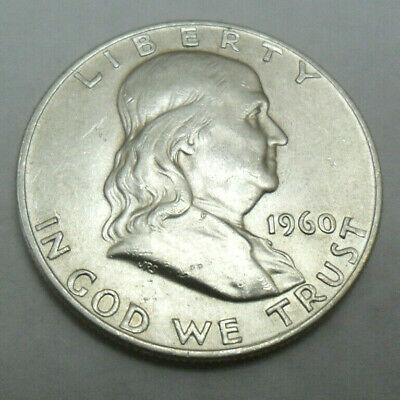 1960 D Franklin Half Dollar   *BU - UNCIRCULATED*  *90% SILVER*  *FREE SHIPPING*