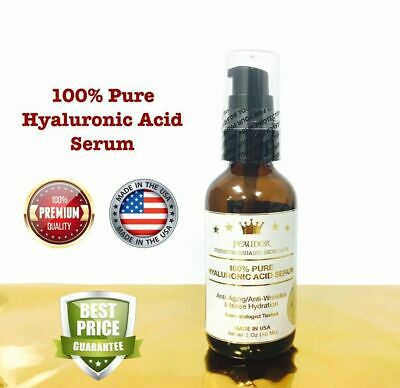 100% Pure HYALURONIC ACID SERUM-PEAUDOR/ Collagen/Anti-Aging/Wrinkles/Hydration