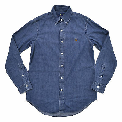 f8d71d0d NWT Polo Ralph Lauren Men's Classic Fit Oxford Buttondown Long Sleeve Shirt  M