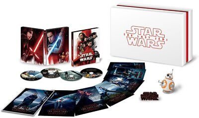 Neuf Star Wars The Last Jedi 4k Uhd Movienex Luxe Boîte 2018 From Japon F/S