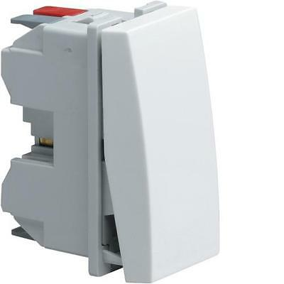 Hager WS012 - Systo 1M Inverseur Blanc