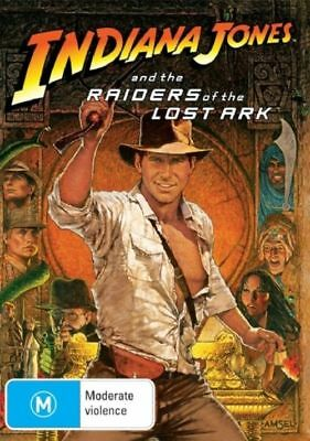 Indiana Jones And The Raiders Of The Lost Ark (DVD) Brand New Sealed Free Post