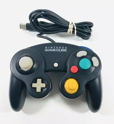 Nintendo Genuine OEM Gamecube Controller Jet Black Official ML87
