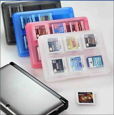 Game Card Case 28 in1 Cartridge Storage Box For Nintendo 3DS DSi DS XL LL