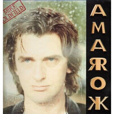 Mike Oldfield LP Vinilo Amarok / Virgin V 2640 - Vinilo Mate Nuevo