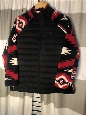 Womens Lauren Active Ralph Lauren Aztec Print Full Zip Fleece Jacket Size Xl