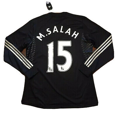 sneakers for cheap 70e79 8af16 2013/14 CHELSEA THIRD Jersey #15 Mohamed Salah Adidas 9 Player Issue Egypt  NEW