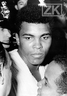 CASSIUS CLAY Muhammad Ali BOXE Boxing Champion Poids lourd Sport Photo 1960s